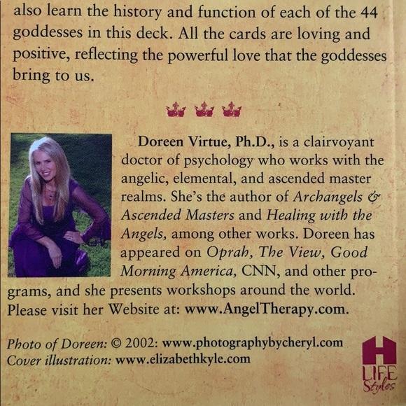 A Review of Doreen Virtue's Goddess Guidance Oracle Cards ... |Doreen Virtue Goddess Cards Bat